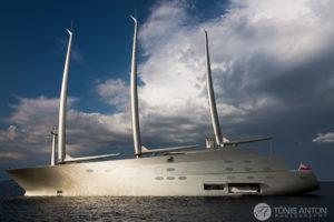 A sight unseen | Sailing yacht A