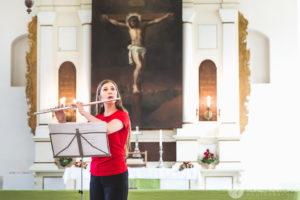Eesti Flöödiühingu Suveakadeemia kontsert Rõuge Kirikus