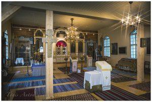 Lasteristimine Obinitsa Issanda Muutmise Kirikus